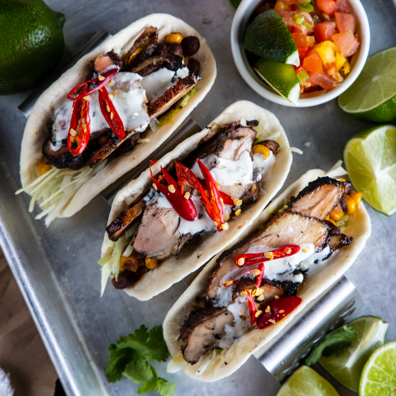 SMOKED CHICKEN TACOS Image
