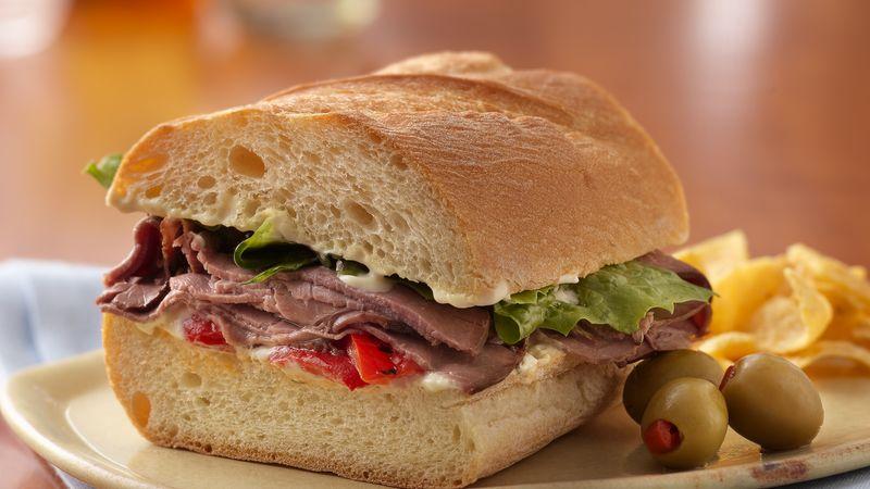 Roast Beef Sandwich Image