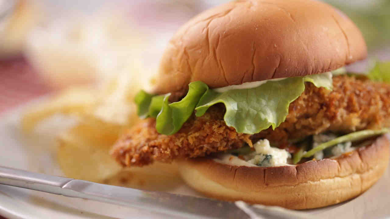 Buffalo Chicken Sandwich Image