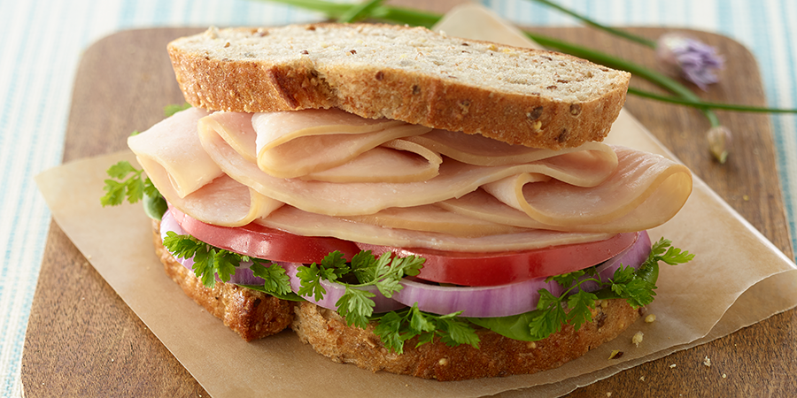 Honey Turkey Sandwich Image