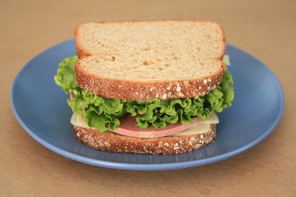 Liverwurst Sandwich Image