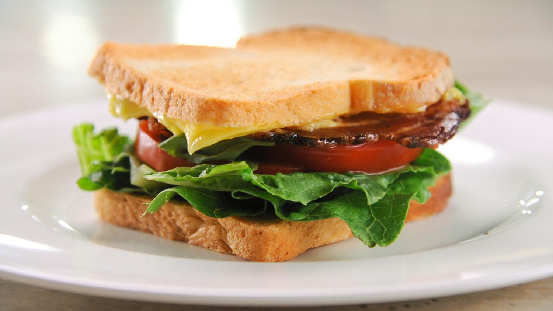 BLT w/ Mayo Sandwich Image