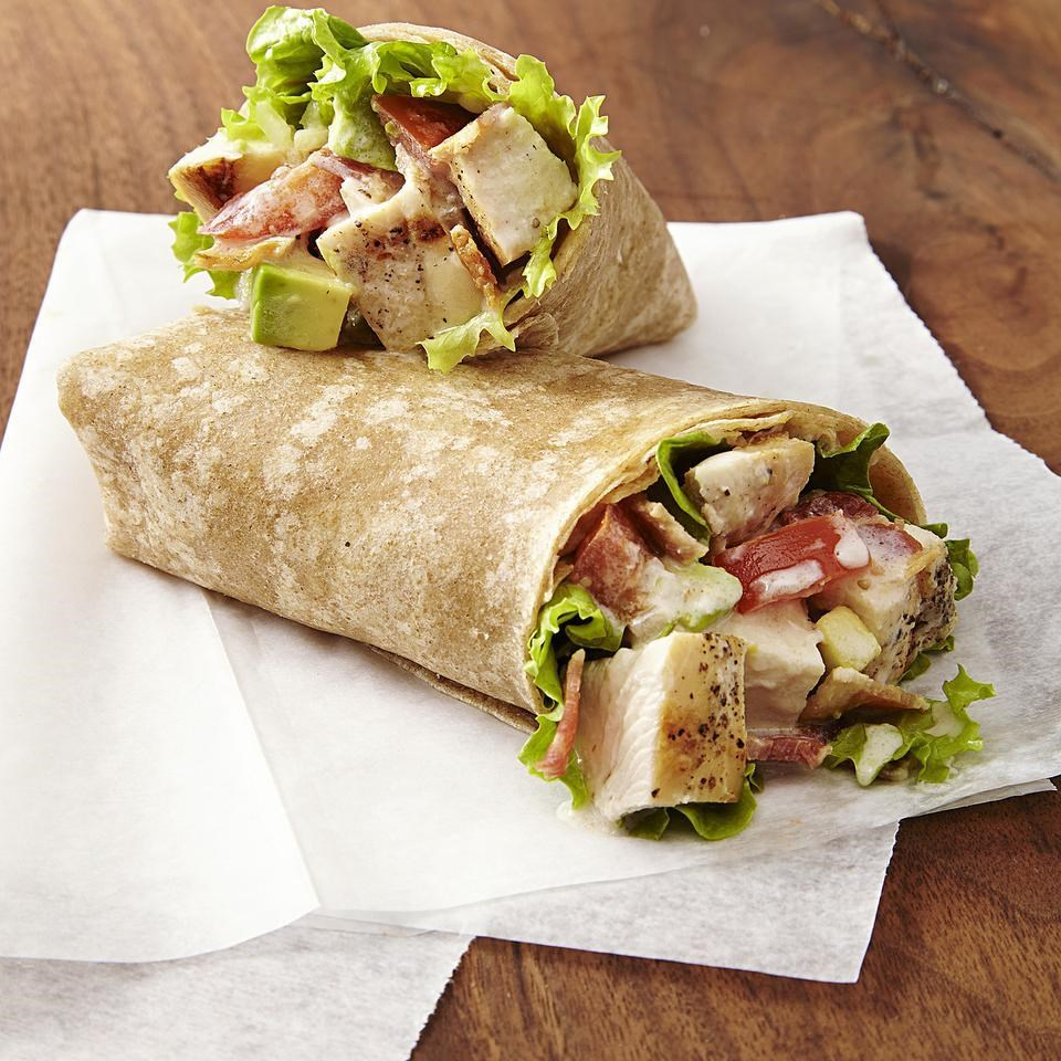 California Avocado Turkey Wrap