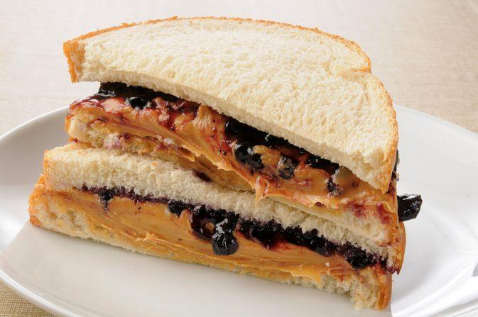 PBJ Sandwich Image