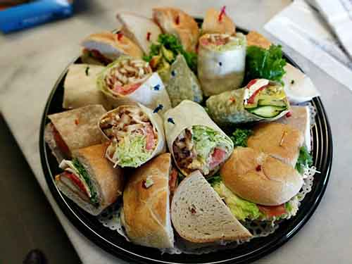 Sandwiches & Wraps Platter Image