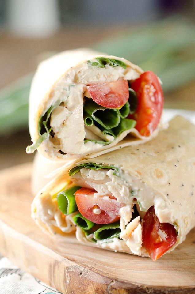 Chicken Chipotle Wrap Image