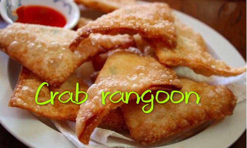 蟹角 Crab Rangoon