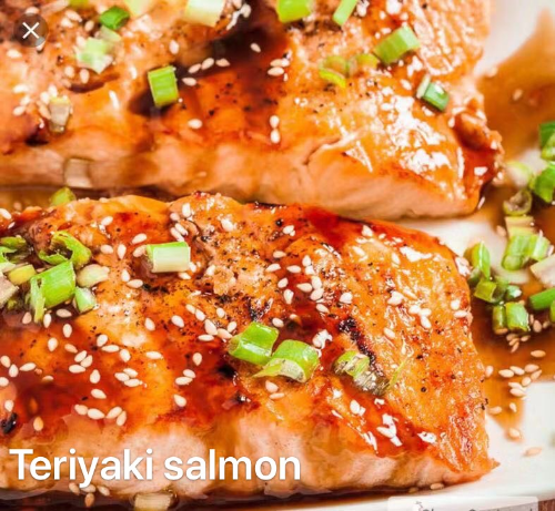 4. Teriyaki Salmon
