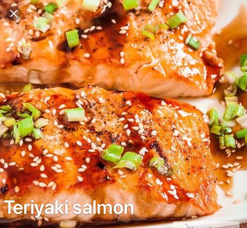 4. Teriyaki Salmon Image