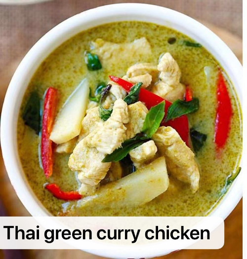 28. Green Curry Chicken