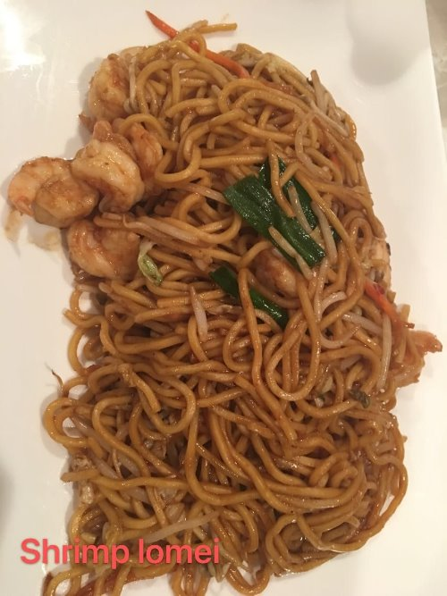 3. Shrimp Lo Mein