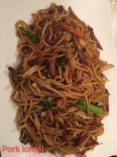 2. Roasted Pork Lo Mein