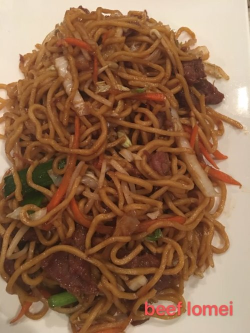 3. Beef Lo Mein