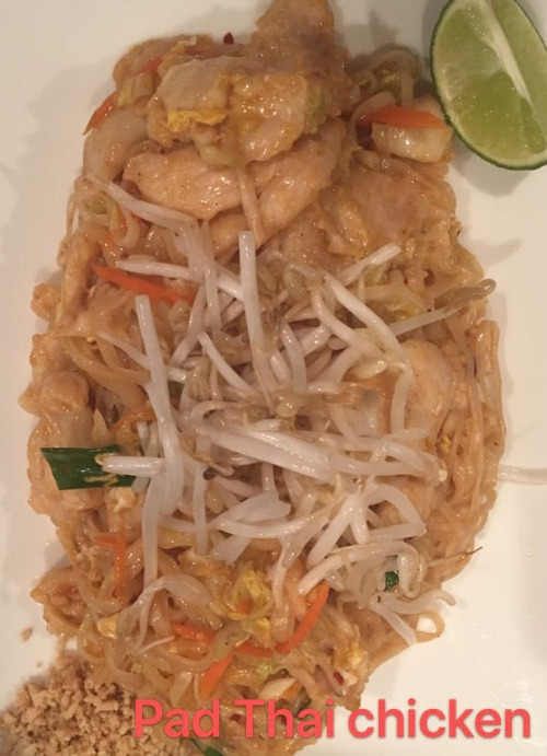 1. Pad Thai Chicken