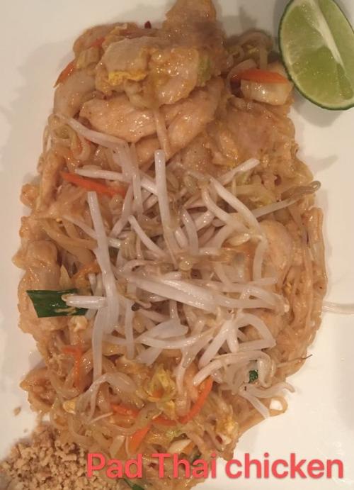 1. Pad Thai Chicken Image
