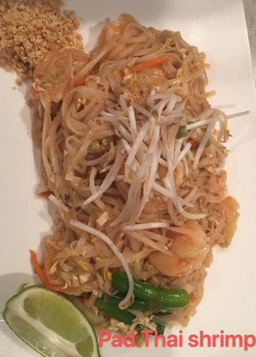 1. Pad Thai Shrimp