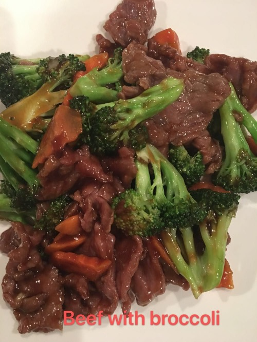 1. Beef with Broccoli