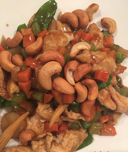 8. Chicken with Cashew Nuts Image