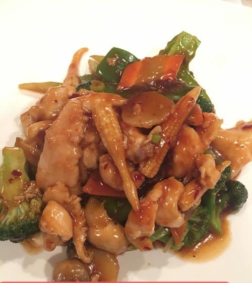 16. Chicken with Garlic Sauce Image