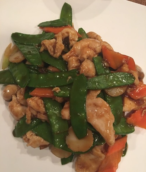 12. Chicken with Snow Peas
