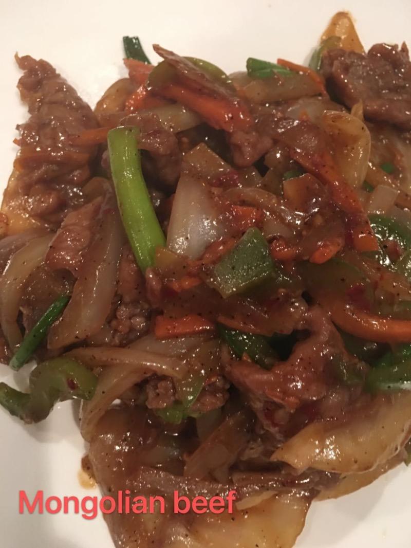 2. Mongolian Beef