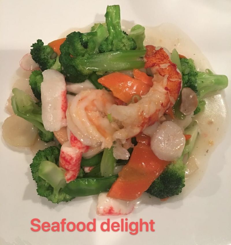 8. Seafood Delight