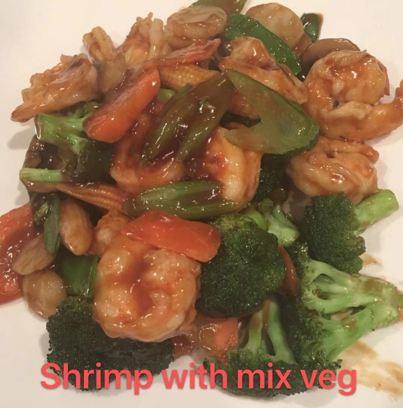 2. Shrimp with Mixed Vegetable Image