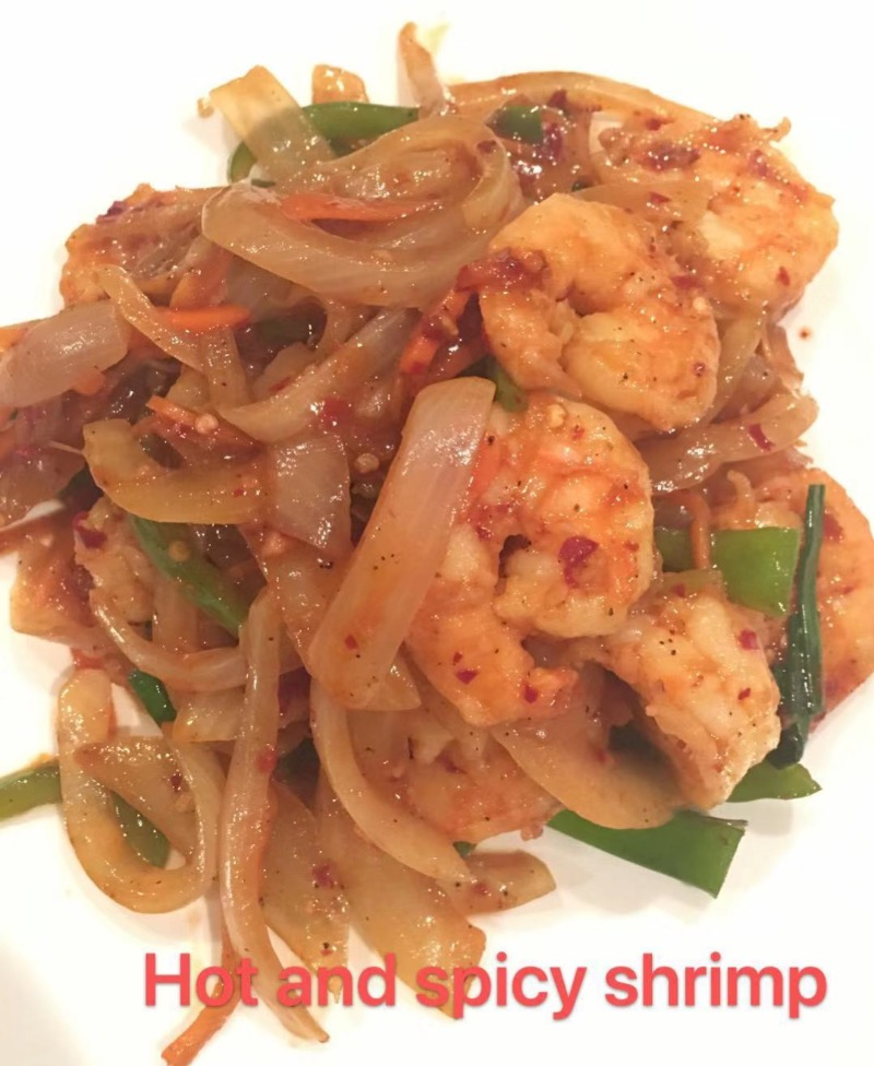 10. Hot & Spicy Shrimp Image