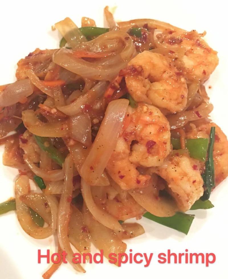 8. Hot & Spicy Shrimp Image