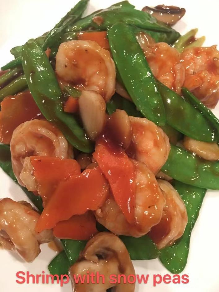 5. Shrimp with Snow Peas