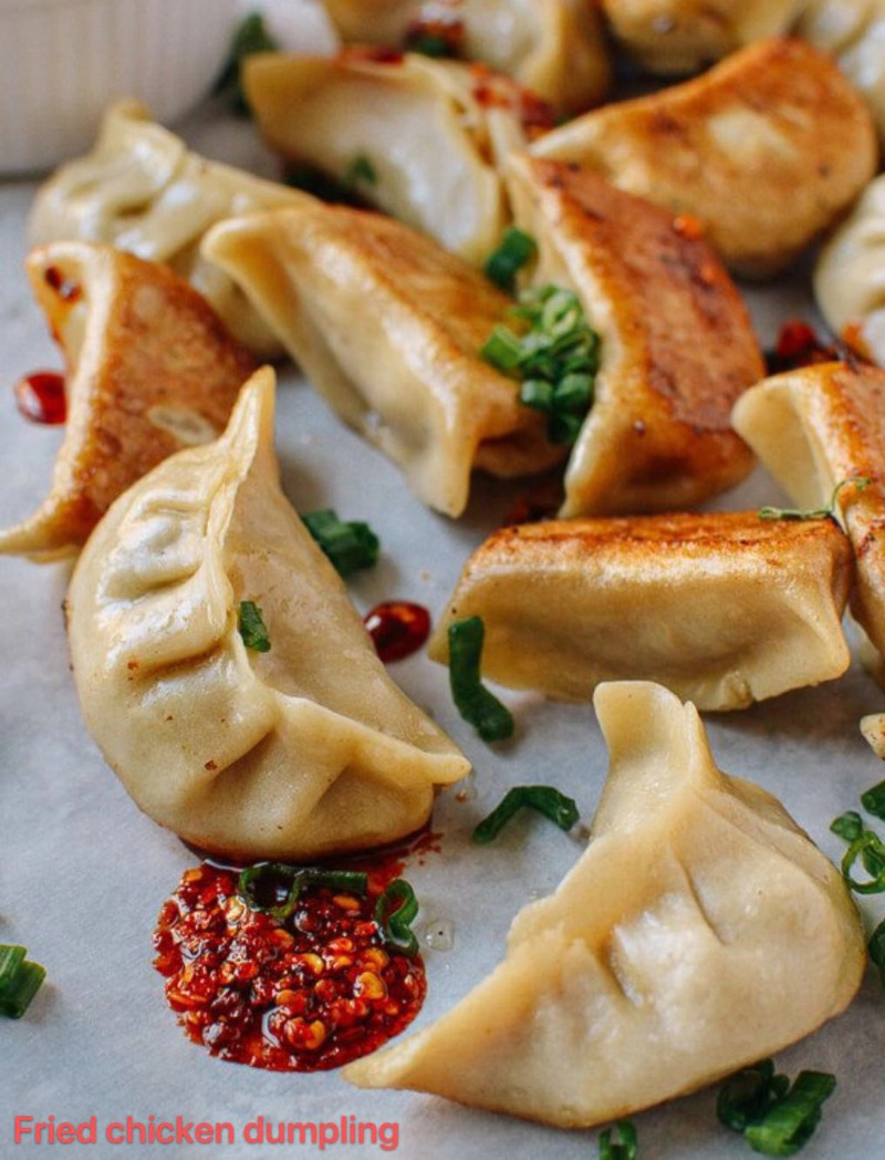 10. Chicken Dumplings (6pcs)