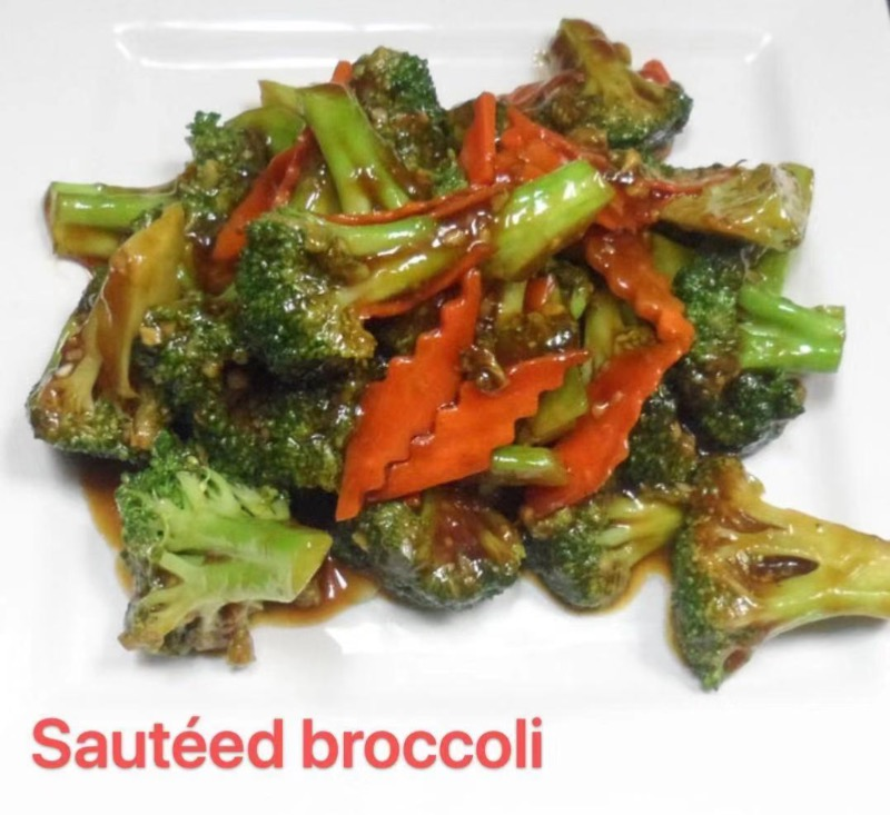 1. Sauteed Broccoli Image
