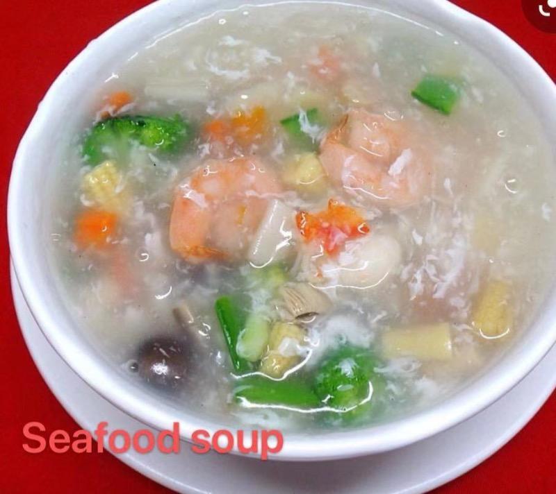 6. Seafood Soup