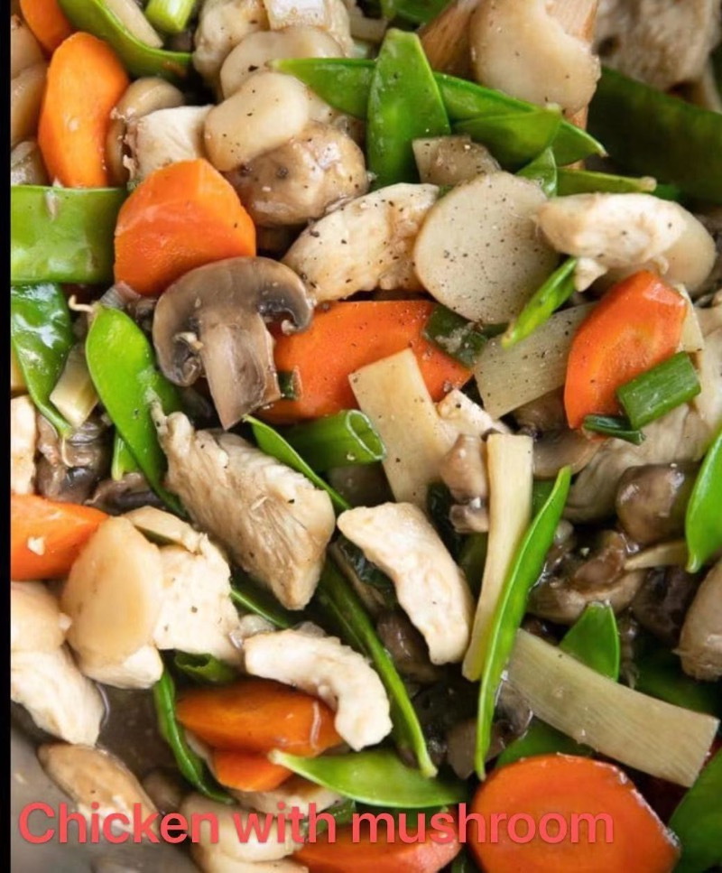 6. Mushroom with Chicken Image