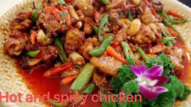 16. Hot & Spicy Chicken