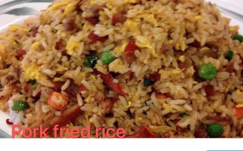 2. Roasted Pork Fried Rice