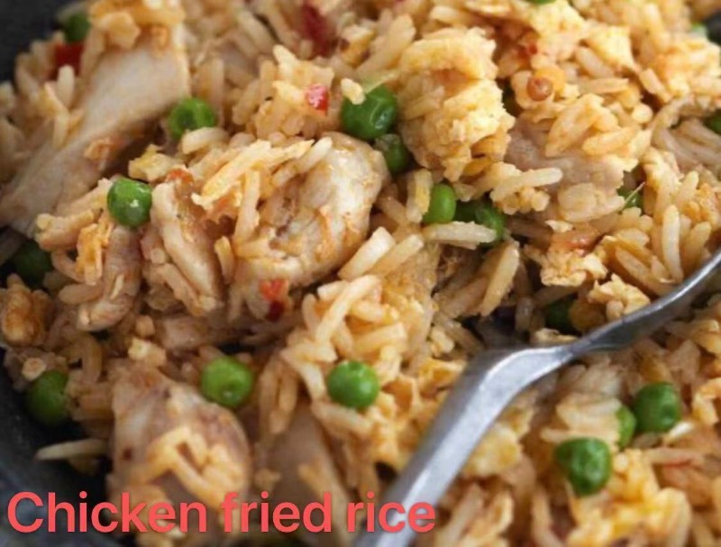 2. Chicken Fried Rice