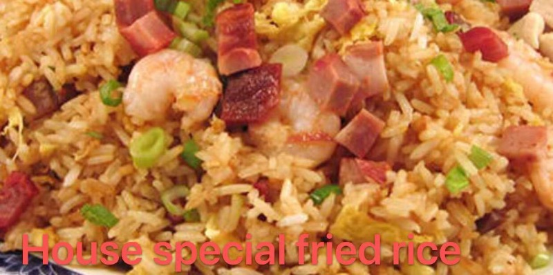 4. House Special Fried Rice