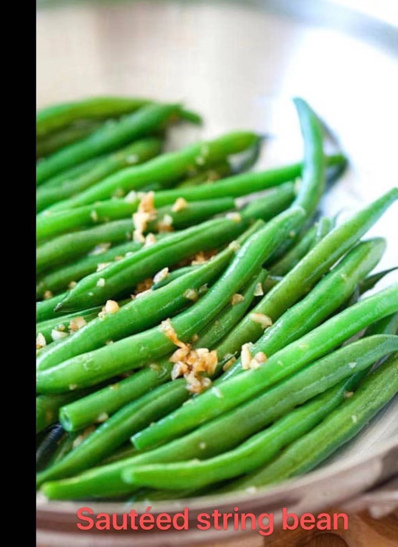 6. Stir Fried String Bean
