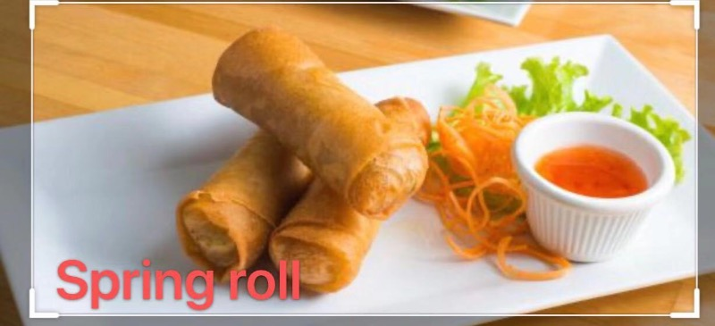 3. Spring Roll (2pcs) Image