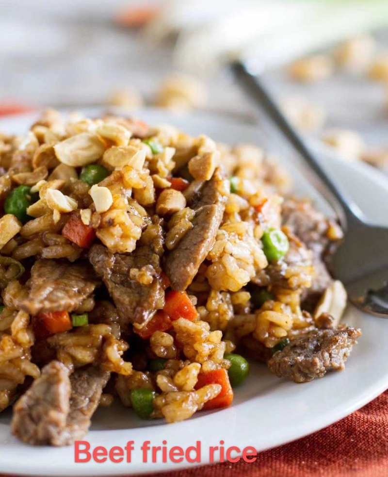 3. Beef Fried Rice