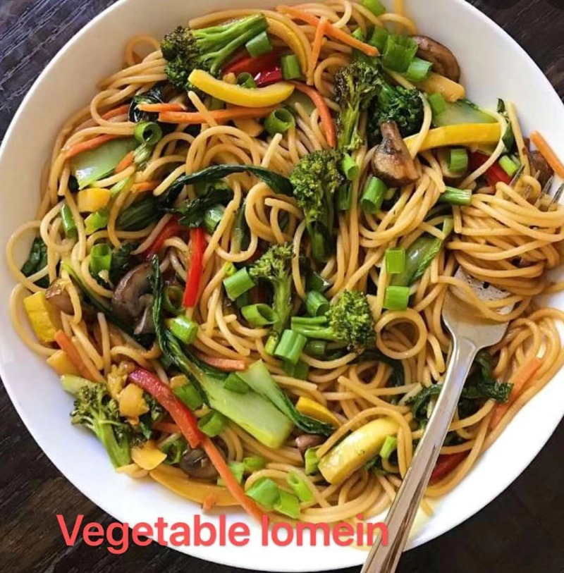 1. Vegetable Lo Mein