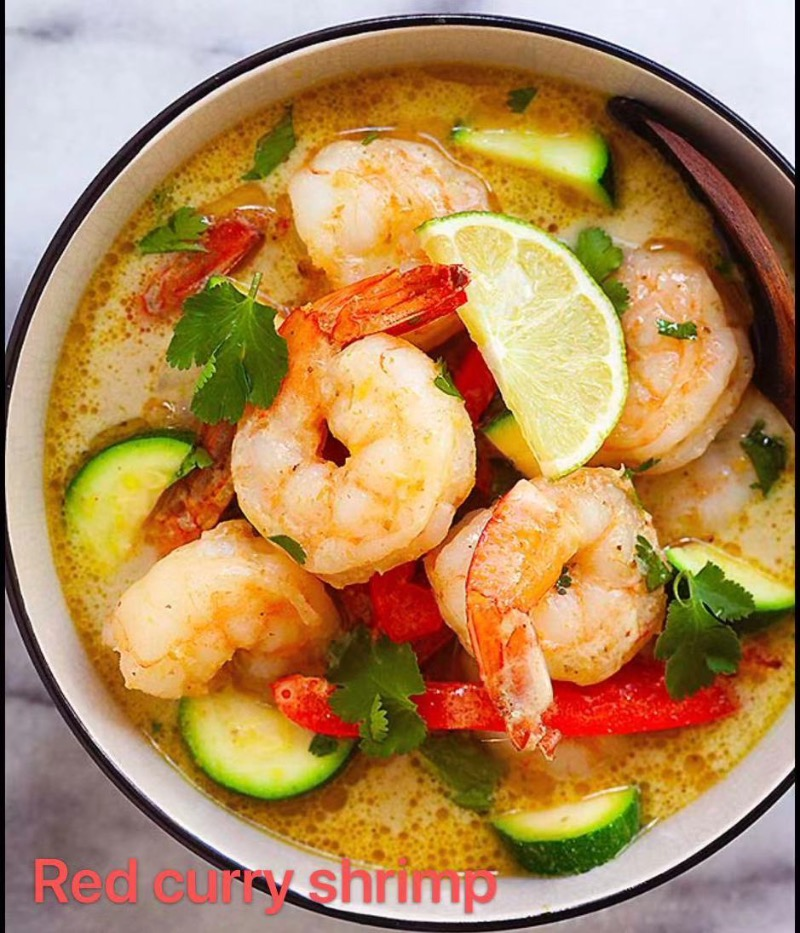 27. Red Curry Shrimp Image