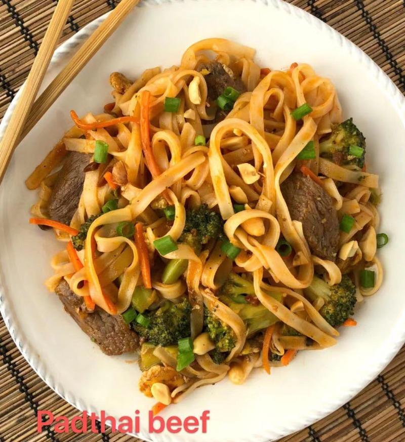 1. Pad Thai Beef