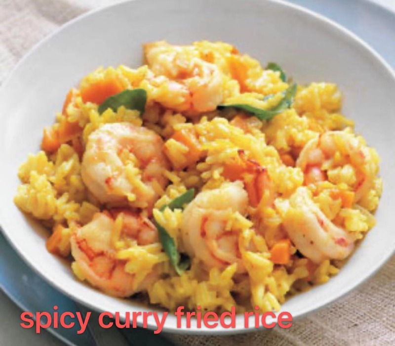 4. Curry Fried Rice Image