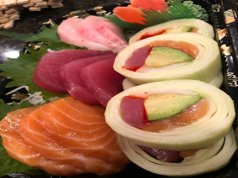 Tri-Color Sashimi Image