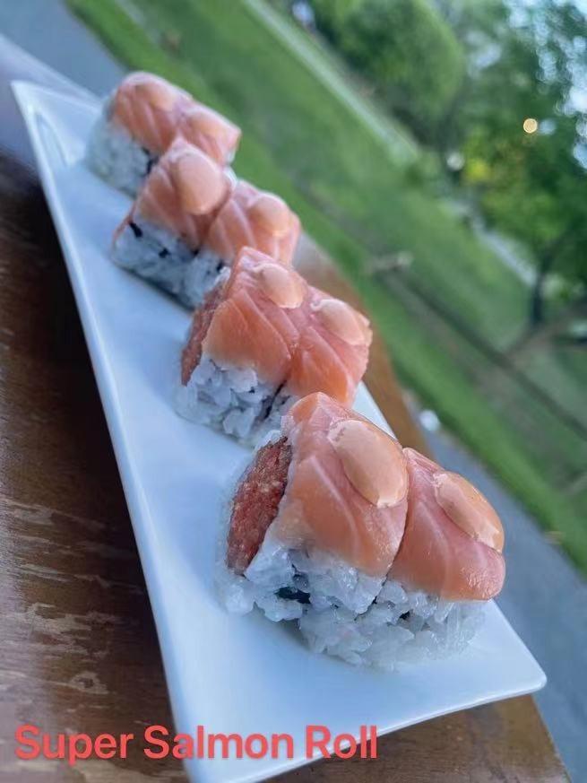 16. Super Salmon Roll