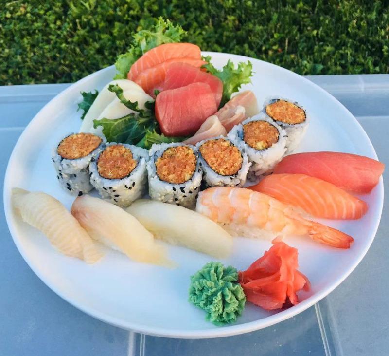 Sushi Sashimi Mix Image