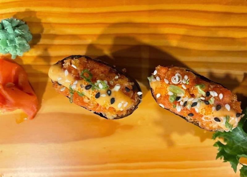 Spicy Tuna Sushi Image