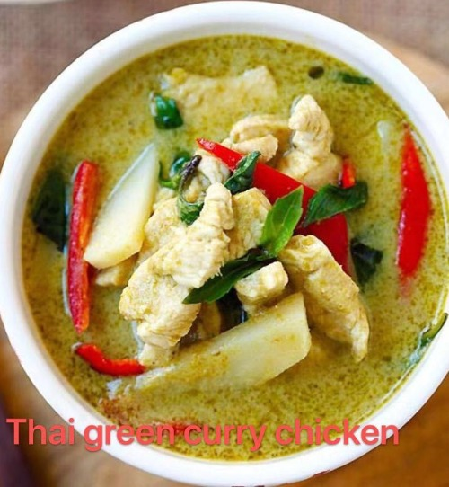 3. Green Curry